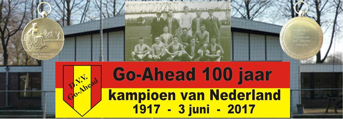 GA 100 jaar kampioen Nederland